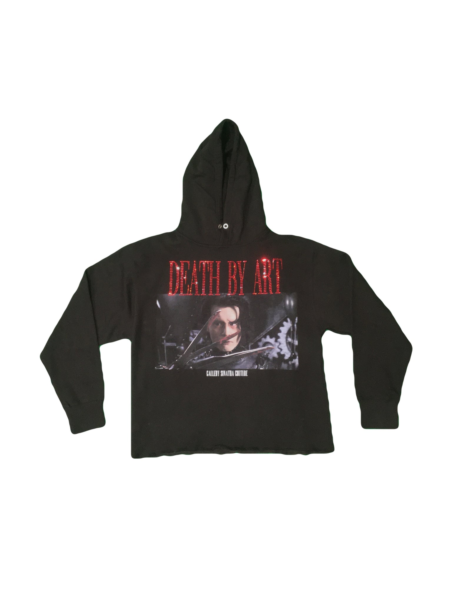 DBA Edward Hoodie Black/Red