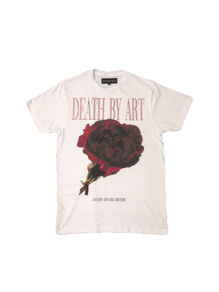 DBA Rose T-shirt White/Red