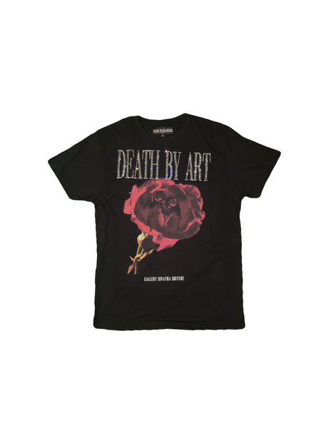 DBA Rose T-shirt Black/Clear