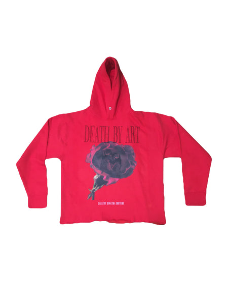 DBA Rose Hoodie Red/Black
