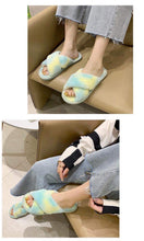TIE-DYE CROSS BAND SLIDES *NON-SLIP*