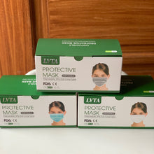 LVTA PREMIUM - 3PLY DISPOSABLE MASK *12 COLORS*