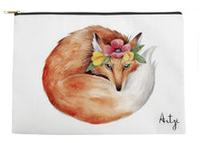 Cute Fox Tote - Artzi Prints