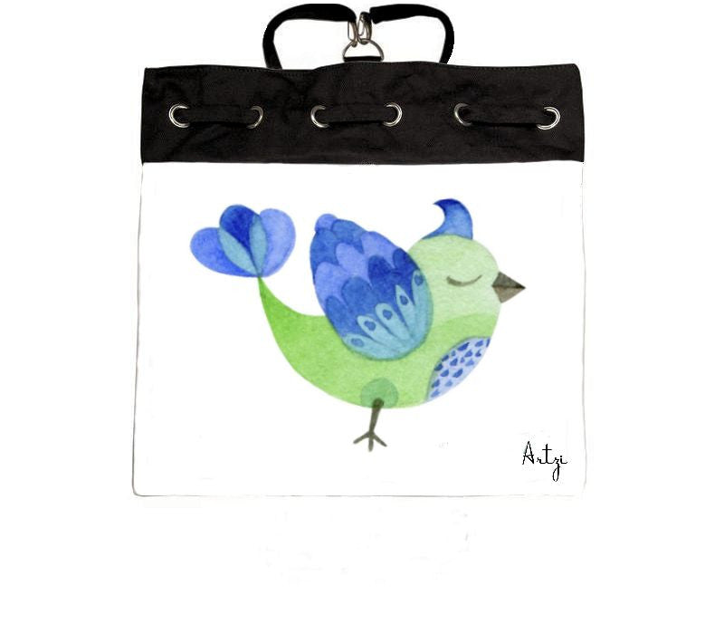 Cutie Bird Backpack - Artzi Prints