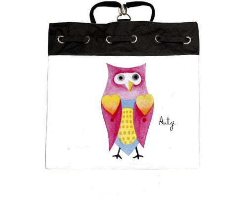 Cutie Owl backpack - Artzi Prints