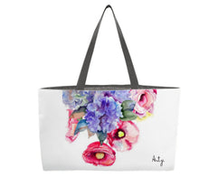 Summer Flowers Weekender Tote - Artzi Prints