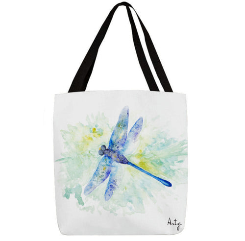 Dragonfly Beauty Tote - Artzi Prints