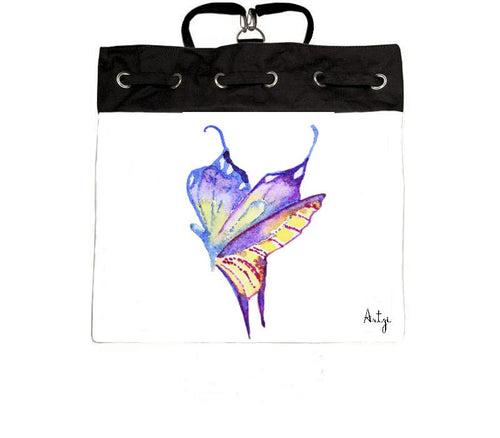 Miss Butterfly Backpack - Artzi Prints