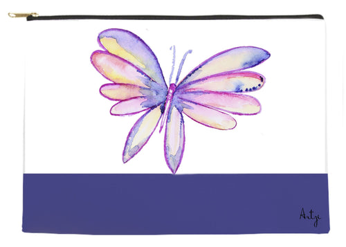 Pretty Butterfly Pouch - Artzi Prints