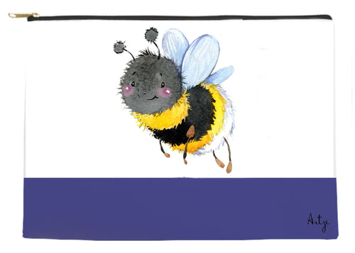 Busy Bee Pouch - Artzi Prints