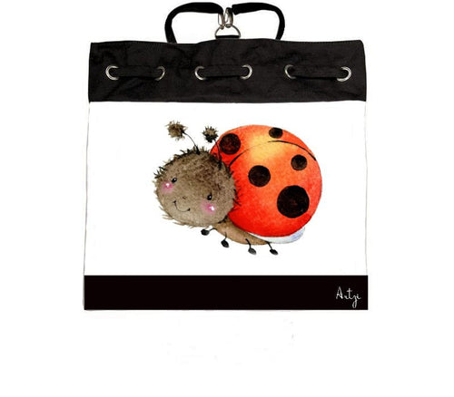 Ladybug Backpack - Artzi Prints