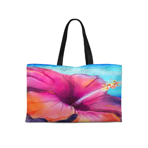 Hawaii  Pink Weekender Tote - Artzi Prints