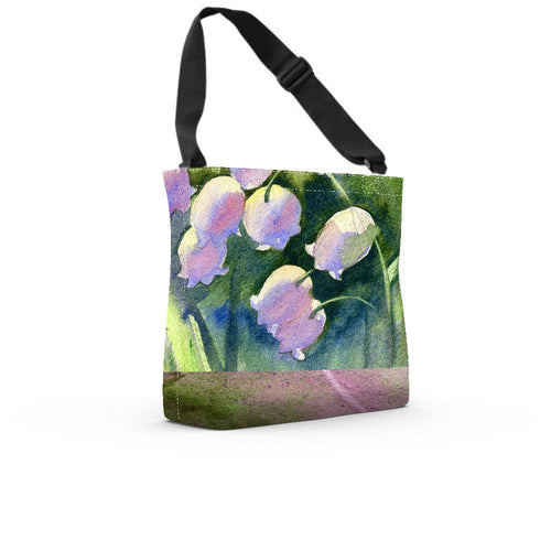 Morning Bells Adj Tote - Artzi Prints