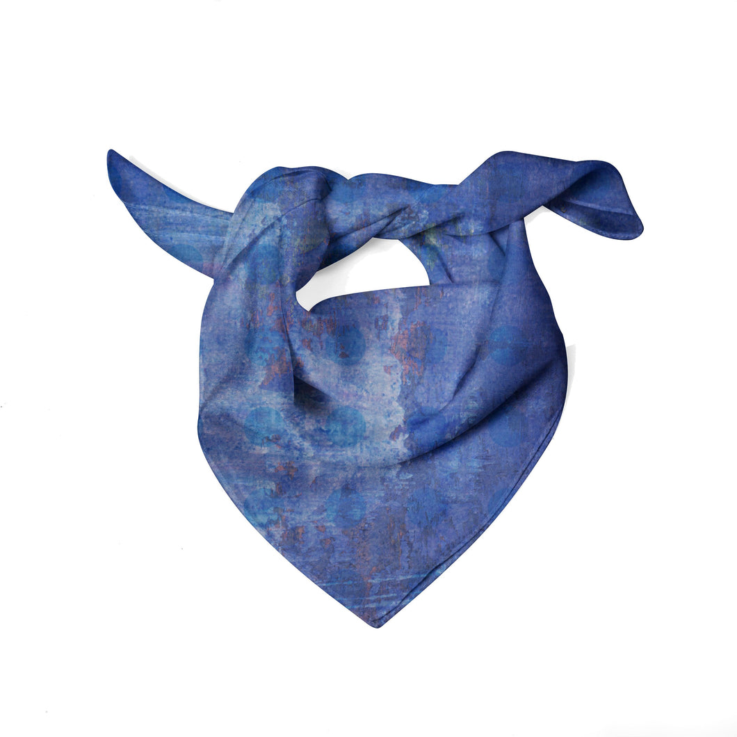Blue Plaid Scarf - Artzi Prints