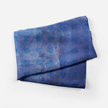 Blue Plaid Scarf Long - Artzi Prints