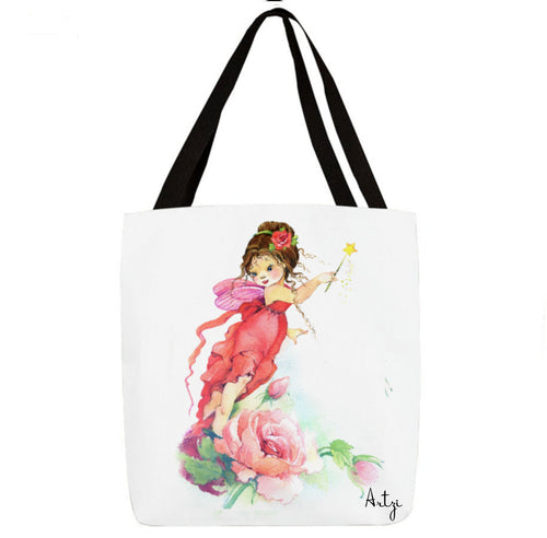 Pretty Fairy Tote - Artzi Prints