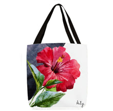 Toucan with Tropical Flowers Tote - Artzi Prints