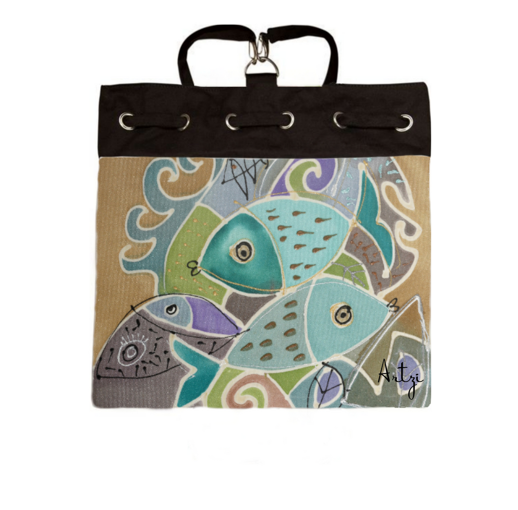 Fish Backpack - Artzi Prints