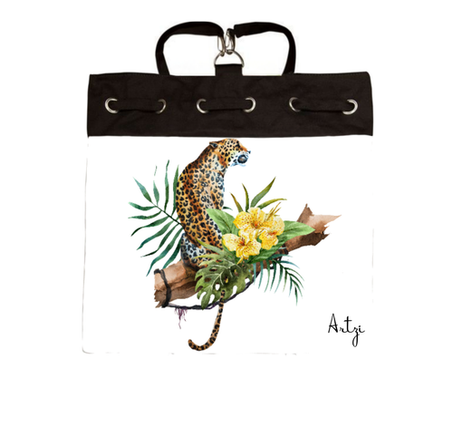 Leopard Backpack - Artzi Prints