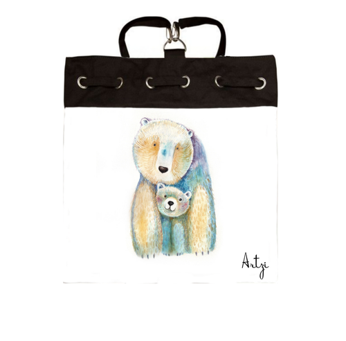 Cute Bears Backpack - Artzi Prints
