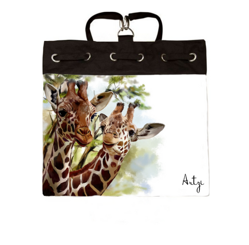 Giraffe Backpack - Artzi Prints
