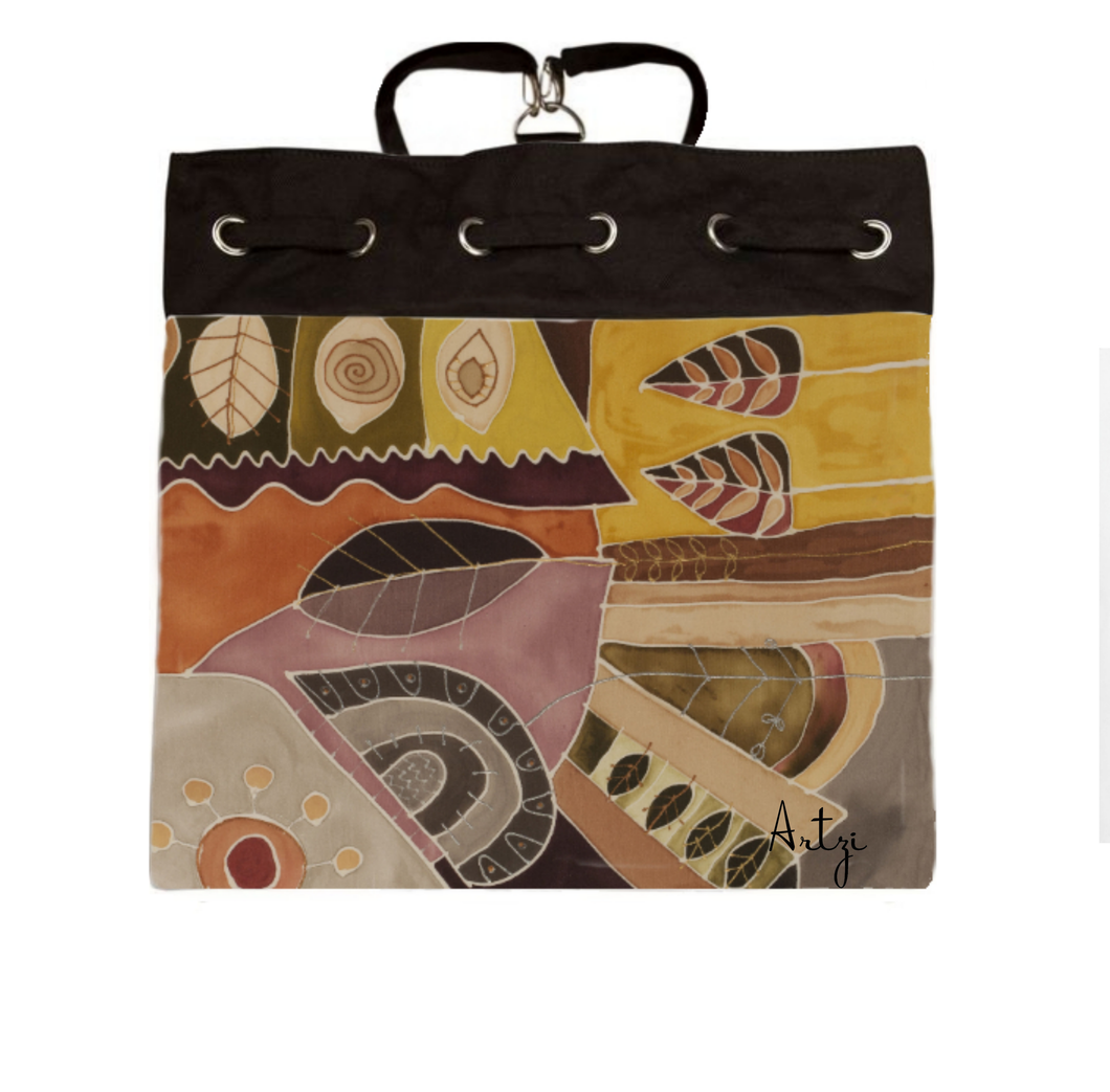 Abstract 2 Backpack - Artzi Prints