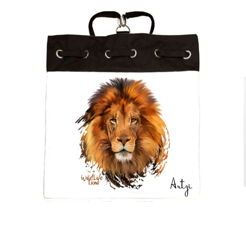 Lion Backpack - Artzi Prints