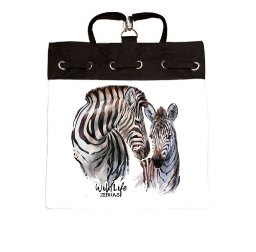 Zebra Backpack - Artzi Prints