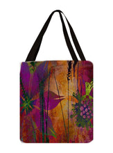 Red Flower Tote - Artzi Prints