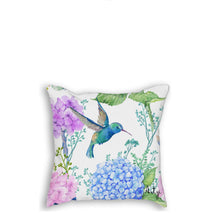 Hummingbird Pillow - Artzi Prints