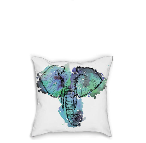 Elephant Pillow - Artzi Prints