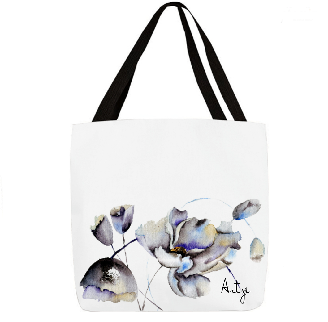 Summer Flowers Tote - Artzi Prints