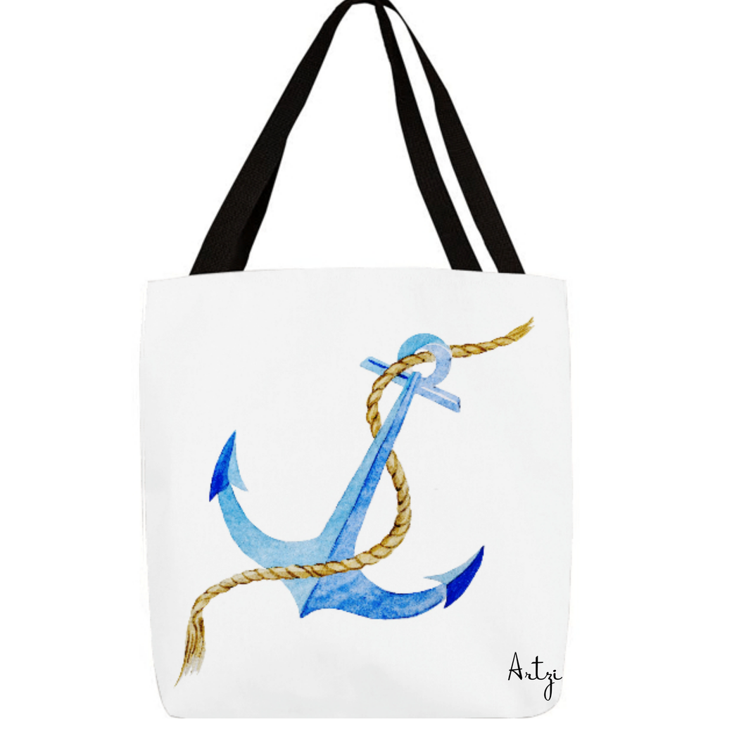 Nautical Anchor Tote bag - Artzi Prints