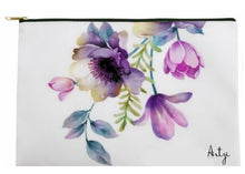 Purple Flower Tote - Artzi Prints