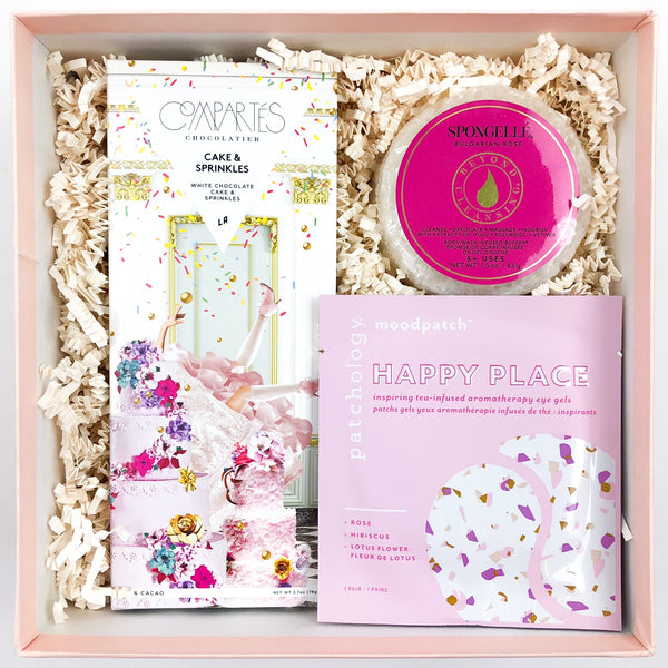 Petite Birthday Treat Curated Gift Box - Luxe & Bloom Luxury Gift Boxes For HEr