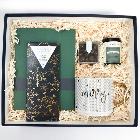 So Very Merry Holiday Corporate Gift Box - Luxe & Bloom