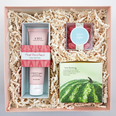 Sweet Summertime Curated Gift Box - Luxe & Bloom