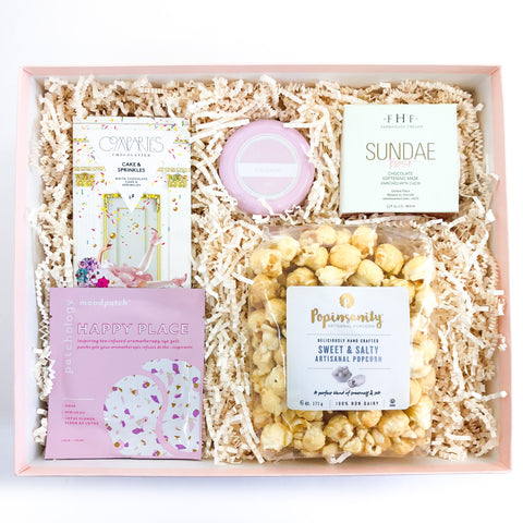 Deluxe Birthday Treat Curated Gift Box from Luxe & Bloom