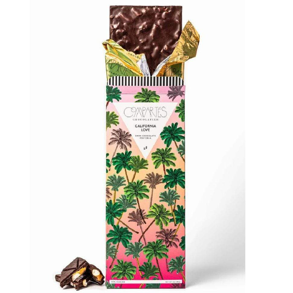 Luxe & Bloom - Compartes California Love Pretzel Dark Chocolate Bar