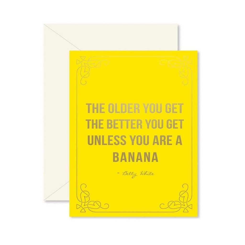 Luxe & Bloom - Ginger P. Designs Birthday Banana Card