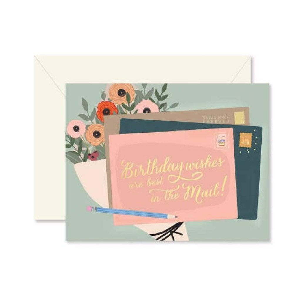 Luxe & Bloom - Ginger P. Designs Birthday Wishes Card