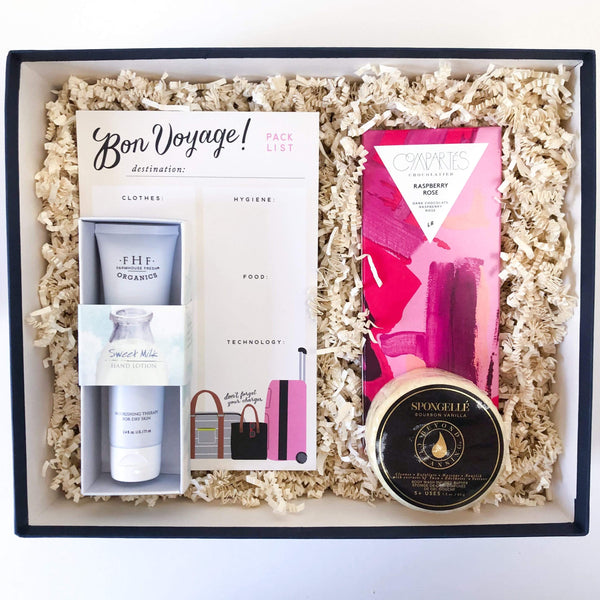 Luxe & Bloom - Bon Voyage Gift Box