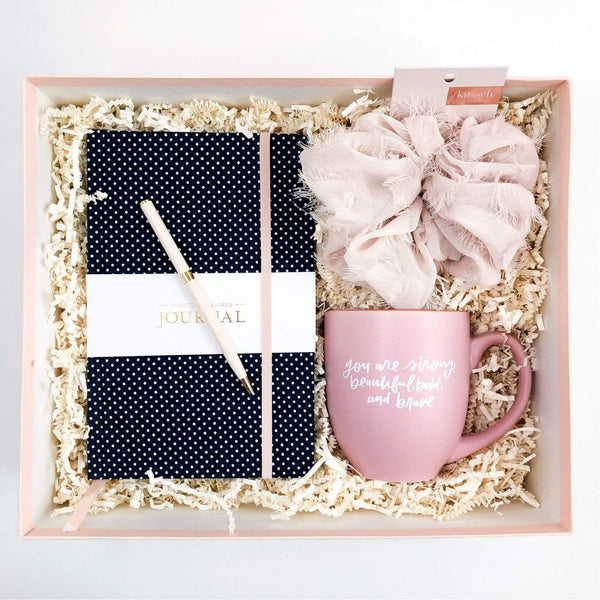 Luxe & Bloom - Strong & Beautiful Curated Gift Box