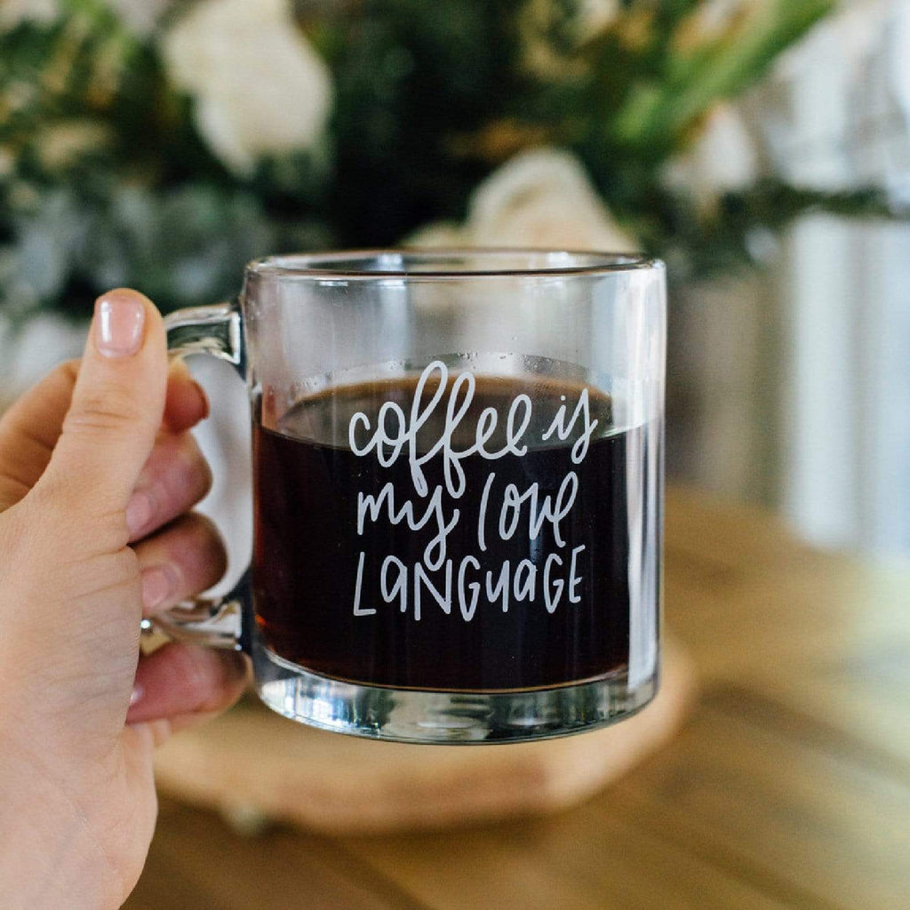 Luxe & Bloom - Rachel Allene Coffee is My Love Language Mug
