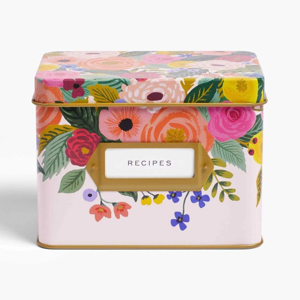 Luxe & Bloom - Rifle Paper Co. Juliet Rose Recipe Tin