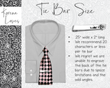 Chef Tie Bar | Gift for Chef