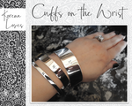 Kindness Is On Her Tongue | Proverbs 31:26 Cuff Bracelet