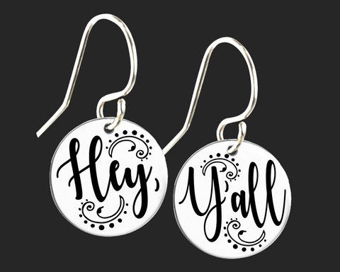 Hey Ya'll Earrings | Southern Jewelry | Korena Loves
