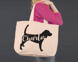 Beagle Dog | Personalized Canvas Tote Bag