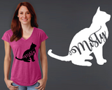 Burmese Cat Personalized T-shirt